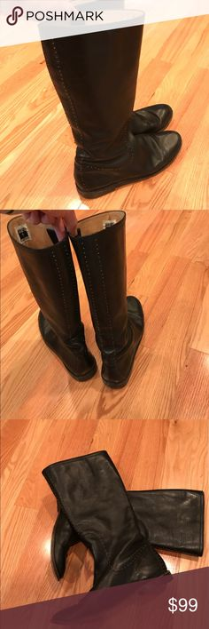 Frye boots black size 10 Brand: FRYE Size: 10 Color: Black only worn a few times. Bought these new for over $300! Awesome deal! Frye Shoes