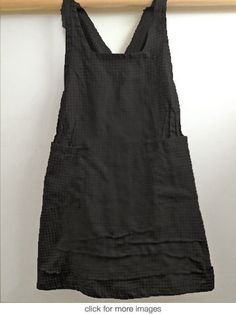 black pinnie  actual source is http://www.southstreetlinen.com/products/pinnie?variant=987974897