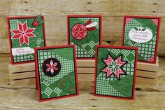 Stack and Cut Quilt Cards Tutorial - Splitcoaststampers