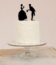 Love this cake topper! - amazing.