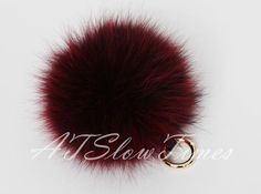 hardware metal clasp color available:GOLD and SILVER please send a message to seller tell me choose gold or silver made on the pom pom fur ball for
