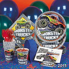 Monster truck party anyone?