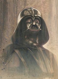 New 'Star Wars: Timeless Series' Prints by Jerry Vanderstelt Anakin Vader, Vader Star Wars, Darth Vader, Anakin Skywalker, Star Wars Film, Star Wars Fan Art, Images Star Wars, Star Wars Pictures, Sith