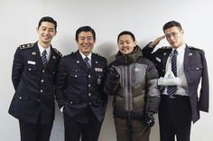 Young police cast