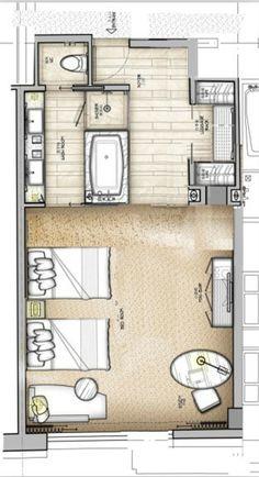 Agatha O | Hotel plan