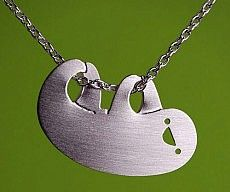 Hanging Sloth Necklace