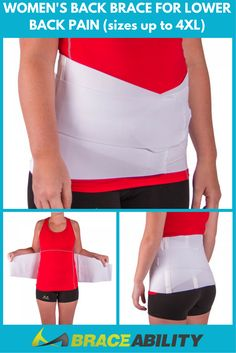 83567ae99732e Women s Back Brace for Female Lower Back Pain (Plus Sizes up to 4XL)