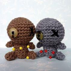 Amigurumi Little Voodoo Dolls