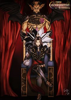 Castlevania-Tribute-Hector-from-Curse-of-Darkness.jpg (636×900)