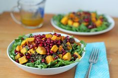 Warm Winter Squash Salad