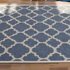 Tappeto IKEA EGEBY decorato con stencil