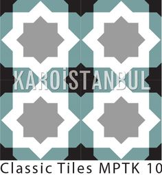 encaustic cement tiles made by Karoistanbul.