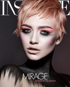Mirage - Hair by Angelo Vallillo  Photographed by Richard Miles Makeup Rosanna Velin  >