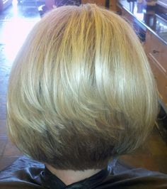 bob hairstyle back view | Angled bob, from the back | KT Boardman