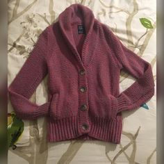 Pink and blue American Eagle cardigan Pink and blue American Eagle cardigan. PRICE IS NEGOTIABLE! OFFERS ARE WELCOME! EVERYTHING MUST GO!! American Eagle Outfitters Sweaters Cardigans