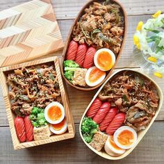 Sausage wiener, eggs, greens and rice Bento Recipes, Healthy Recipes, Desserts Japonais, Cute Food, Yummy Food, Eat This, Food Goals, Asian Cooking, Aesthetic Food