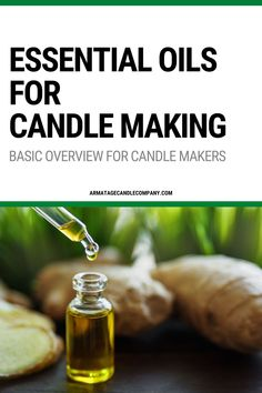 Despite what you might hear, you can use essential oils for candle making but they require a more advanced approach than a synthetic fragrance. Understanding the origin and behavior of them is absolutely critical if you're going to successfully integrate essential oils into your product line, or just make them at home. Read this guide for how they compare and what you can do to use them#candlemaking #essentialoils #diycandles Candle Making At Home, Candle Making Business, Calming Essential Oils, Homemade Essential Oils, Fancy Candles, Diy Candles, Scented Candles, Diy Aromatherapy Candles, Diy Candle Holders