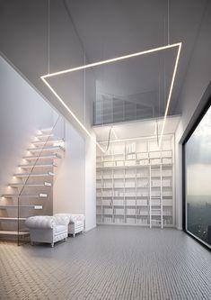 OPK-4 Profile - C0370 | Klusdesign.eu Led Recessed Lighting, Recessed Ceiling Lights, Linear Lighting, Mounting Brackets, Light Fixtures, Design, Interiors, Home Decor, Ral Colours