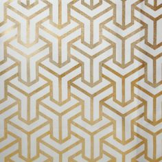 Love this gold metallic fabric from Caitlin Wilson Textiles - $65/yard.  Valances for kitchen windows?  Could bring some unexpected glamour.