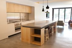Concreate Kitchen Benchtop - Raw