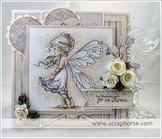 Silver Fairy by Åsa Danielsson