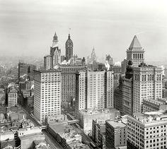1913 Lower Manhattan