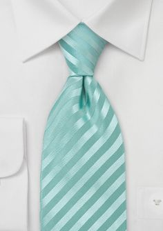 Groomsmen: Trendy Mint-Green Mens Tie... needs a touch more green