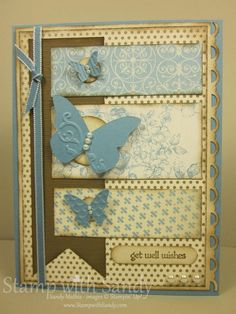 Greetings, Stampers! Today I have a Get Well card project for you. I hope it makes the recipient feel a little better. I know I would love ...
