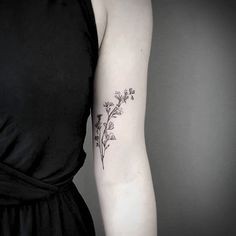 Floral twig for more self love. Thank you, Marie! (swipe left)