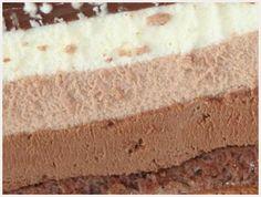 Gateau 3 chocolat facile mais long à faire, trooop bon !