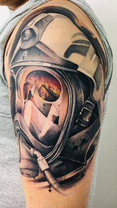 Firefighter School, Firefighter Wedding, Firefighter Love, Fireman Tattoo, Firefighter Tattoos, Microsoft Word, Nurse Love, Master Chief, Cool Tattoos