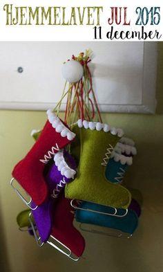 Hjemmelavet julepynt – De fineste små skøjter