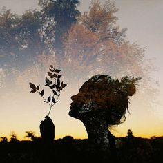 Awesome Silhouette Photography by Emilya Costa Landscape Photography, Art Photography, Acid Art, Double Exposure Photography, Silhouette Photography, Psy Art, Photo Projects, Les Oeuvres, Photoshoot