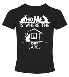 # Home Is Where The Cat Are . Limited Time Only - Ending Soon!Guaranteed safe and secure checkout via:PAYPAL | VISA | MASTERCARD | AMEX | DISCOVEREXTRA DISCOUNT : Order 2 or more and save lots of money on shipping! Make a perfect gift for your friends or any oneBe sure to order before we run out of time!Tags: crazy cat lady old lady cat shirts crazy cat shirt cat t shirts for women cat apparel girls funny cheap clothes on them with cats lightning cat Cat T-Shirts themed t shirts lovers…