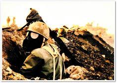 Ett annat ökenkrig var givetvis det som utkämpades mellan Iran och Irak 1980–1988. Detta fördes i öknen, men även i träsken kring Basra, vilka ibland var antända och ofta nergasade.