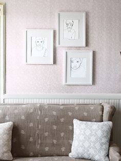 How to embroider portraits from family photos.     #crafts #art