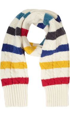 566f8476c63 Paul Smith Cable Knit Scarf in Multicolor for Men (multicolored) - Lyst