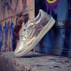 Reebok Sneakers Textural Silver Xmas Plata
