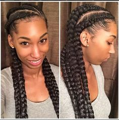 Incredible Protective Styles Cornrows And Style On Pinterest Short Hairstyles Gunalazisus