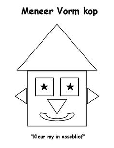 Vorms Preschool Themes, Preschool Worksheets, Activities For Kids, Afrikaans Language, Toddler Learning, Toddler Crafts, Maths, Mathematics, Personal Development