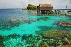 Hidden Paradise at Togean Island #Indonesia   #travel