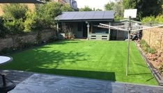 If you find yourself treading a path as you walk from your decking to your shed, artificial grass is durable alternative which feels just like the real thing.
