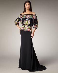 Mexican Style Evening Dresses