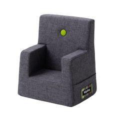 Børnestol mørk grå
