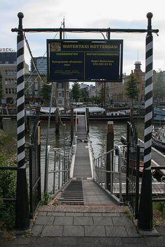 Watertaxi Veerhaven Rotterdam