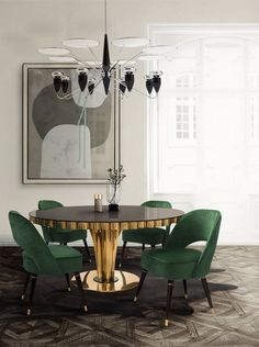 Green-Home-Interior-Design-Projects-To-Follow-With-2018-Color-Trends-4 Green-Home-Interior-Design-Projects-To-Follow-With-2018-Color-Trends-4