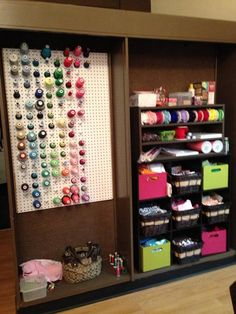 Storage and Thread organization