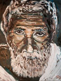 Hello Stranger - oil 50x60cms by Vodegel#oil #canvas #art #paintings #buy
