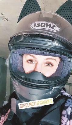 Motorcycle Helmets, Cat Ears, Biker, Female, T Shirt, Supreme T Shirt, Tee Shirt, Motorcycle Helmet, Catgirl