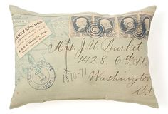 Virginia Envelope Pillow on OneKingsLane.com